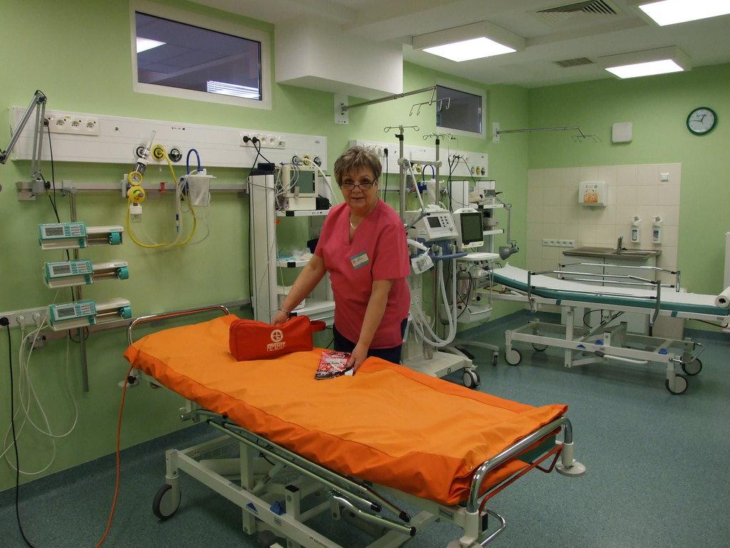 Oddział Intensywnej Terapii i Anestezjologii (Pielęgniarka Oddziałowa Zoja Przystupa)