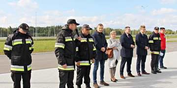 Ćwiczenia zgrywające służb ratowniczych powiatu janowskiego 1