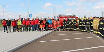 Ćwiczenia zgrywające służb ratowniczych powiatu janowskiego 5