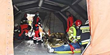Ćwiczenia zgrywające służb ratowniczych powiatu janowskiego 3