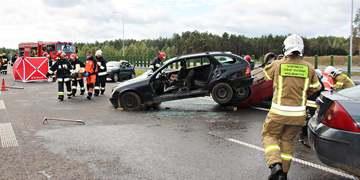 Ćwiczenia zgrywające służb ratowniczych powiatu janowskiego 2